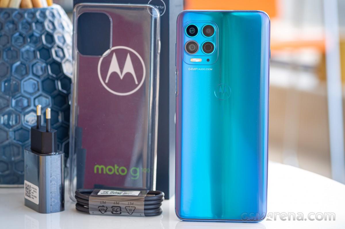 Motorola Moto G100 akan di review