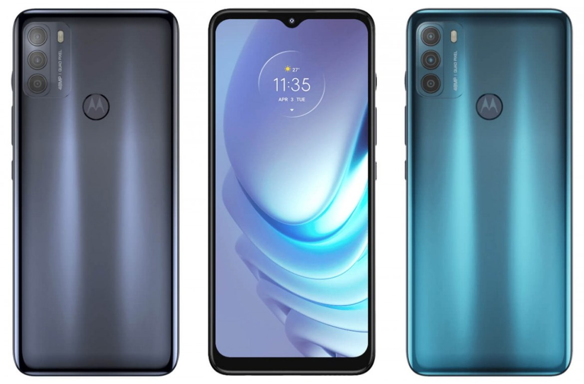 Moto G50 press renders leak, confirms TENAA looks
