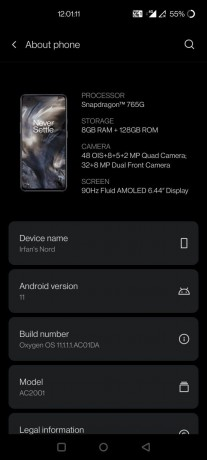 "A hotfix is rolling out for OnePlus Nords Android 11 update (<a href=""https://forums.oneplus.com/threads/oxygenos-11-for-the-oneplus-nord.1395954/page-297#post-22871316"" target=""_blank"" rel=""noopener noreferrer"">image credit</a>)"