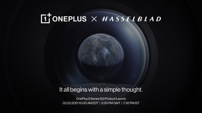 OnePlus 9 series launch confirmed for March 23