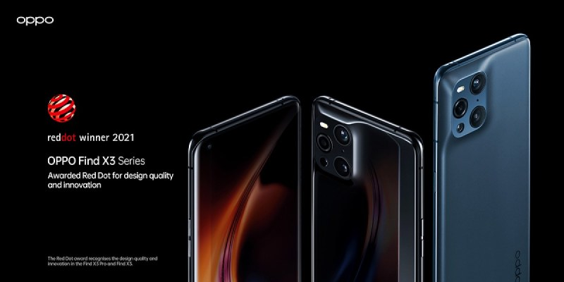Oppo Find X3 Pro wins the Red Dot Product Design Award for 2021