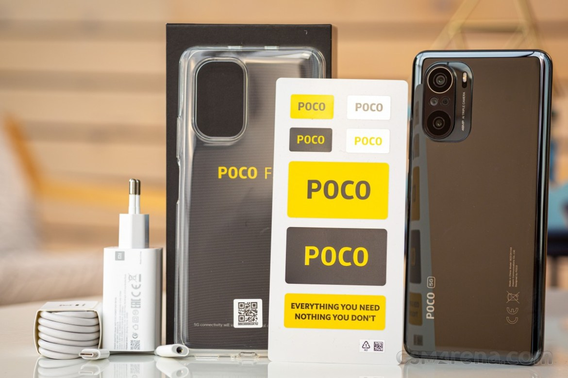 Poco F3 in for review