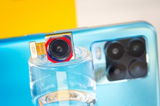 The 108MP camera sensor is physically big