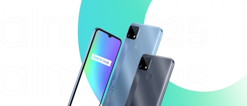 Realme C25 is official with a massive 6,000 mAh battery