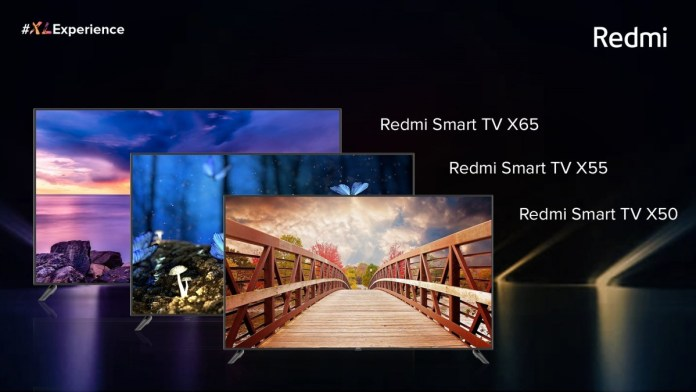 """Redmi TV X-series launched in India, ranging from 50"""" to 65"""" in size"""
