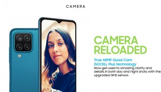 Galaxy M12: 48 MP main and 5 MP ultra wide cameras
