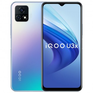 vivo iQOO U3X 5G dalam Warna Biru Ajaib