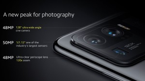 Xiaomi Mi 11 Ultra's highlight features: Large sensors all around