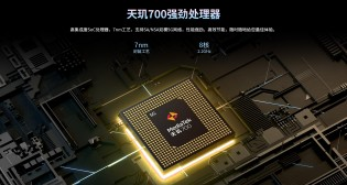 ZTE S30 SE: MediaTek Dimensity 700 chipset