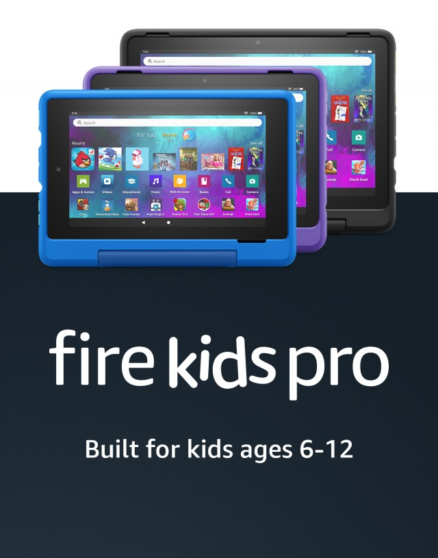 Amazon Fire Kids Pro line