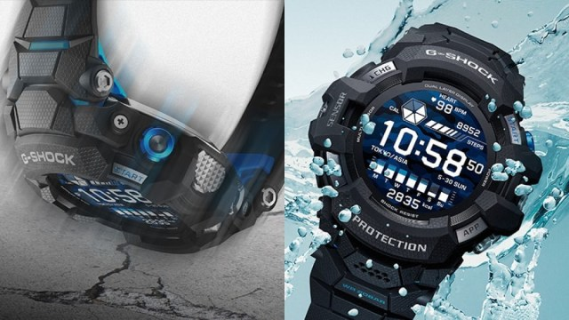 Casio G-Squad Pro is the first G-Shock watch with Wear OS