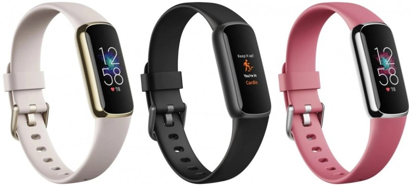 Fitbit Luxe appears in leaked images with stainless steel body and OLED screen