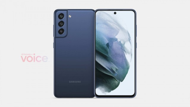 Galaxy S21 FE render