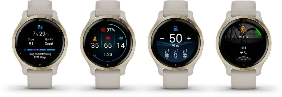 Garmin unveils Venu 2 smartwatch in two sizes with double the battery life - GSMArena.com news