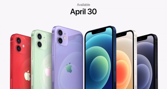 Apple unveils Purple color for the iPhone 12 and 12 mini, available April 30