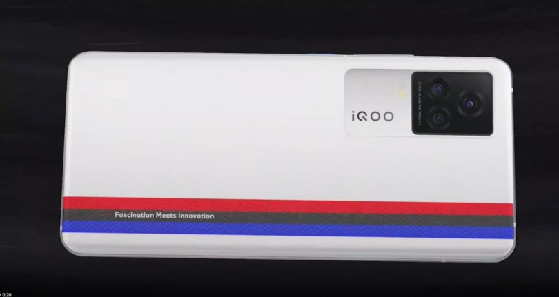 iQOO 7 Series with BMW M branding