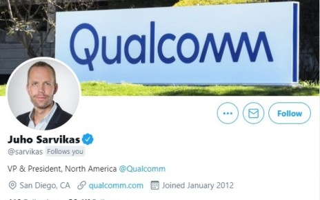 Former Nokia and HMD exec Juho Sarvikas joins Qualcomm