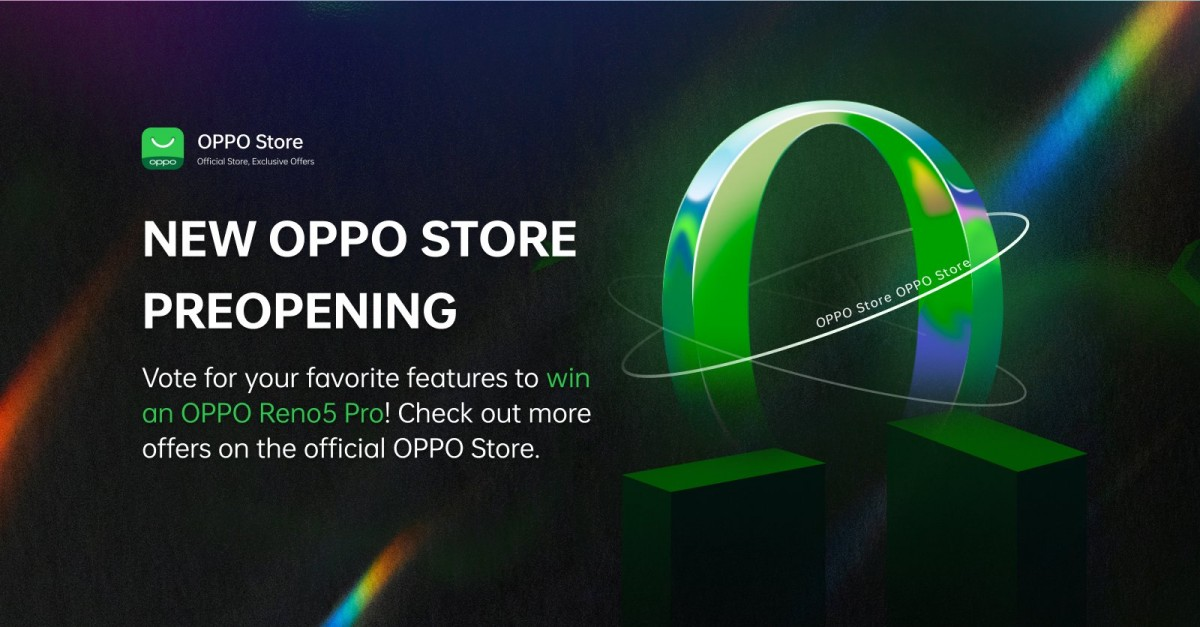 Oppo will open a new online store in India on May 7