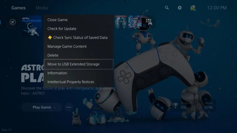 Sony adds USB extended storage option for the PlayStation 5
