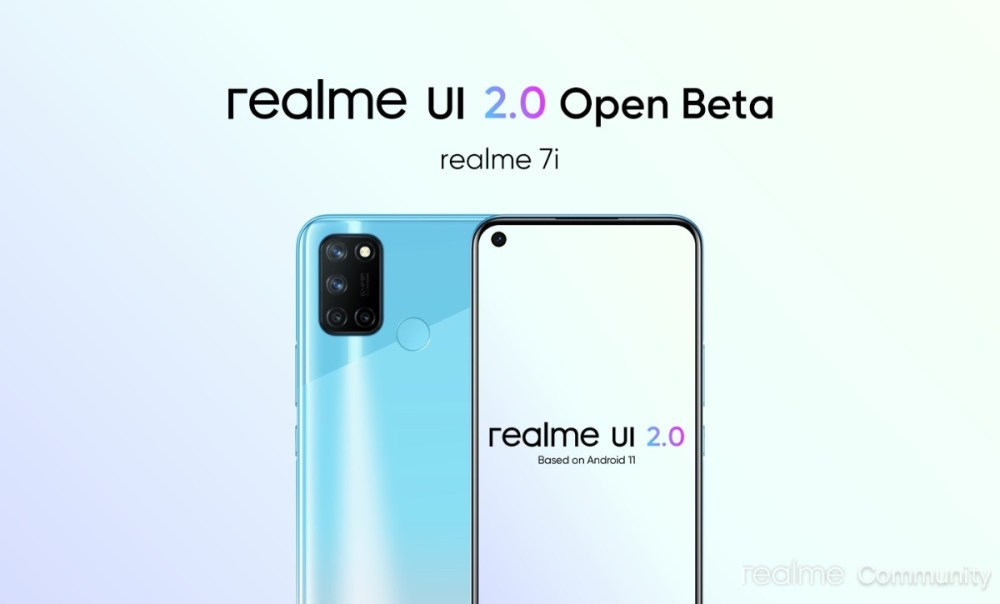 Realme UI 2.0 early access program announced for C15 Qualcomm Edition, 7i gets Open Beta