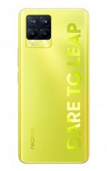 Realme 8 Pro in Illuminating Yellow