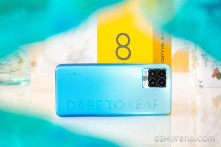 Realme 8 Pro update improves camera, fixes fingerprint issue