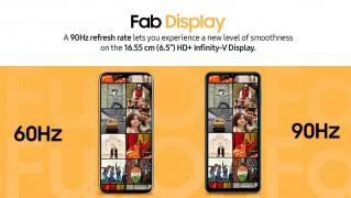 Samsung Galaxy F12: 6.5
