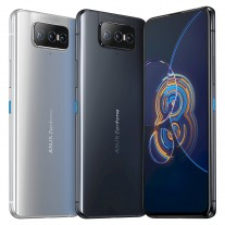 The Asus Zenfone 8 Flip is available in Galactic Black and Glacier Silver