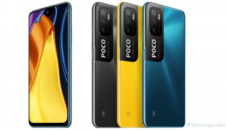 A leaked render of the Poco M3 Pro 5G