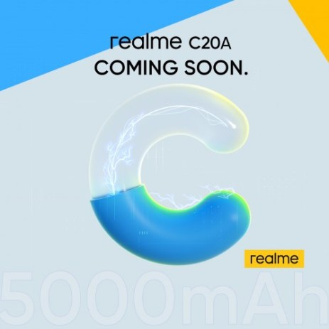 Realme C20A will be unveiled next week