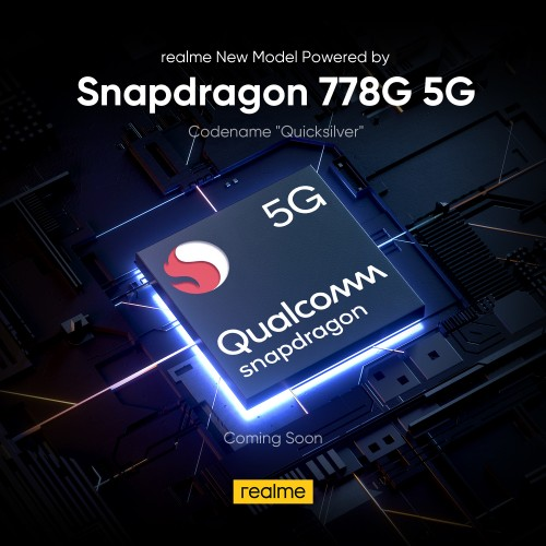 Realme smartphone codenamed ''Quicksilver'' is coming soon with Snapdragon 778G 5G SoC