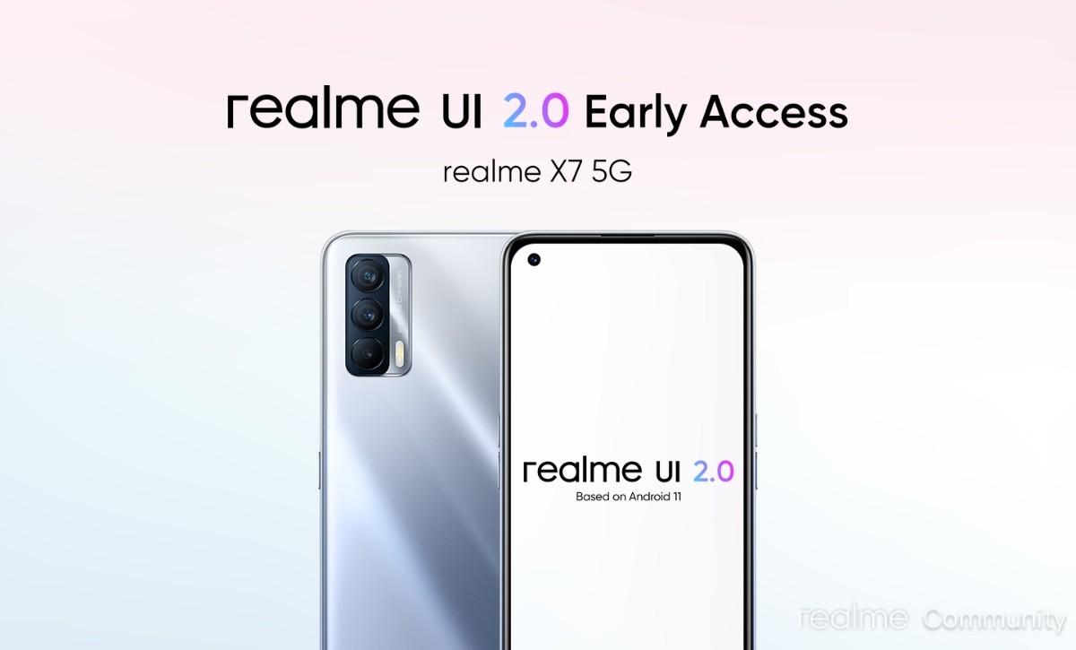 Realme UI 2.0 Open Beta tiba untuk C12 dan C15, Realme X7 sekarang siap untuk Akses Awal
