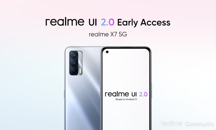Realme UI 2.0 Open Beta arrives for C12 and C15, Realme X7 is now up for Early Access