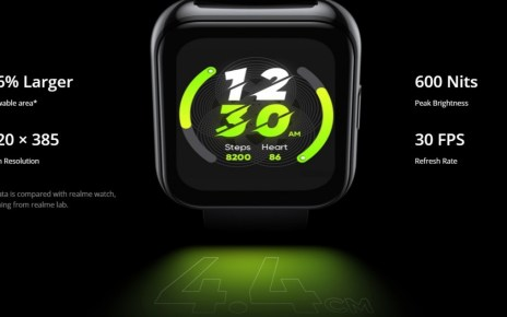 Realme Watch 2 Pro announced with 1.75″ screen, GPS and 14-day battery life