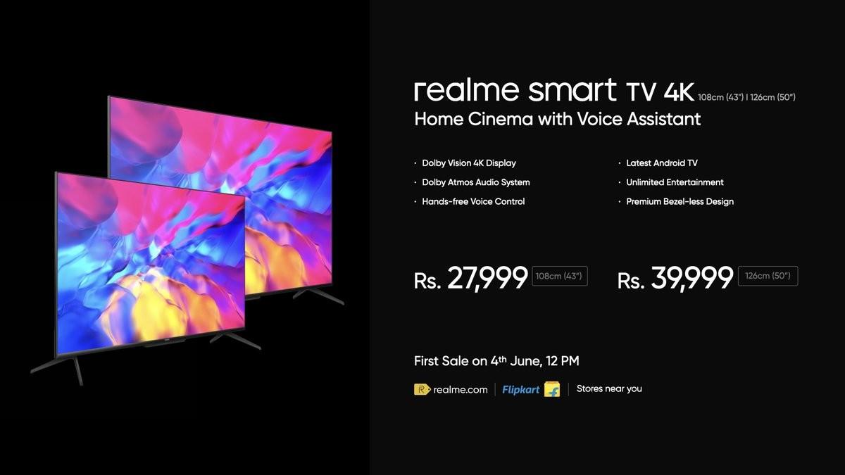 Realme X7 Max 5G announced, Smart TV 4K tags along ,रियल मी एक्स सेवन मैक्स 5G