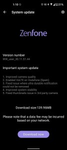 The Asus Zenfone 8 gets its second firmware update