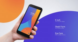 Alcatel 1 (2021) is a small Android 11 Go Edition phone