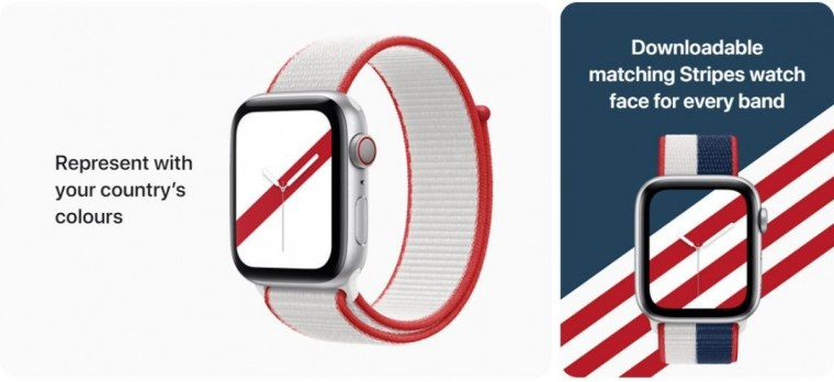 Apple releases International Collection Watch bands for 22 countries
