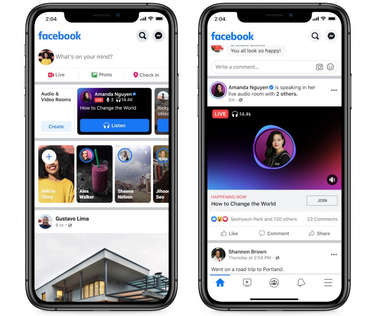 Ruang Audio Langsung Facebook dan Podcast diluncurkan di AS