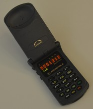 "Motorola StarTAC <a href=""https://en.wikipedia.org/wiki/File:First_Generation_Motorola_StarTAC_cellular_phone.jpg"" target=""_blank"" rel=""noopener noreferrer"">image credit</a>"