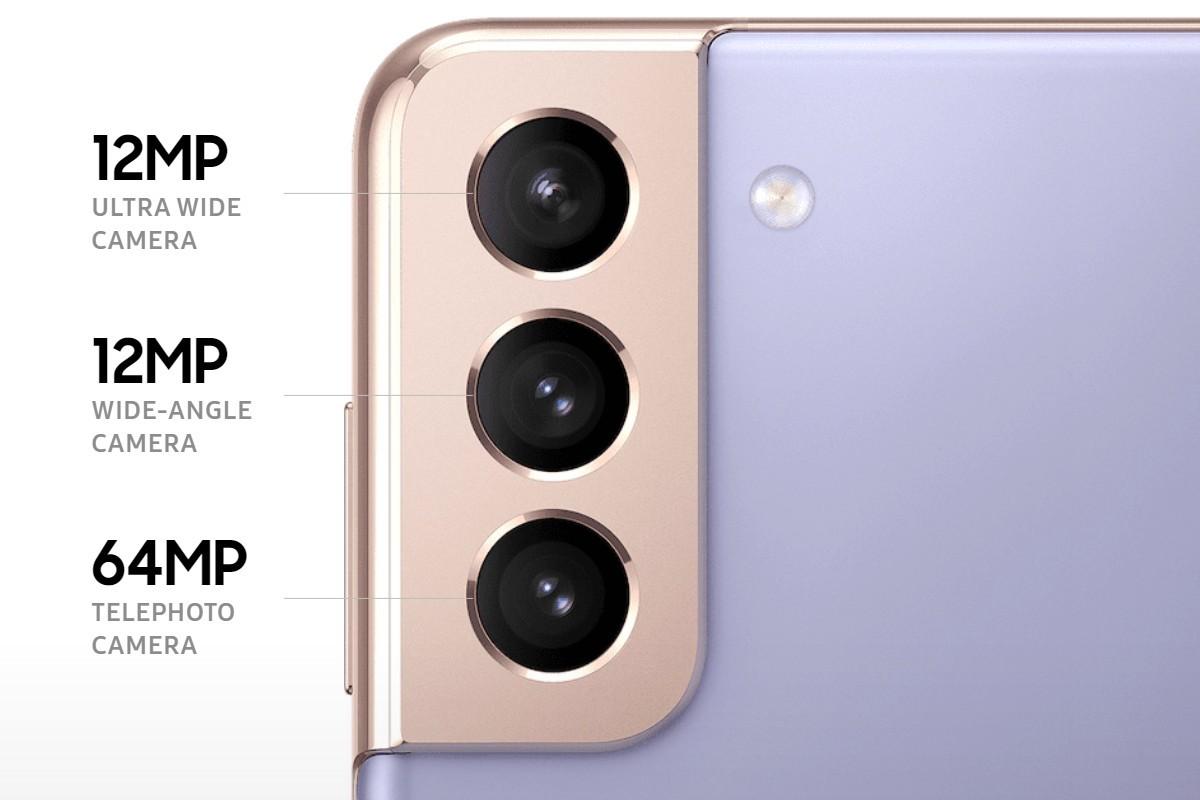 Pengaturan kamera pada Galaxy S21/S21+ saat ini (hampir identik dengan S20/S20+ juga)