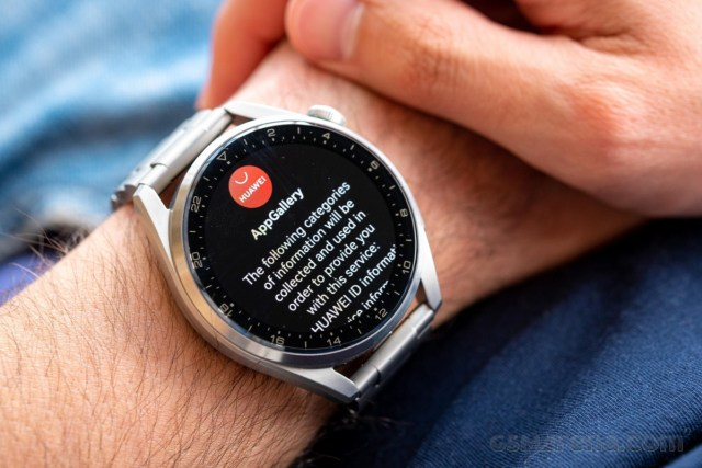 Huawei Watch 3 Pro in for review