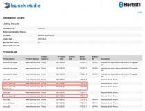 Daftar Bluetooth SIG dan UL Demko