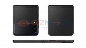 Samsung Galaxy Z Flip3 renders