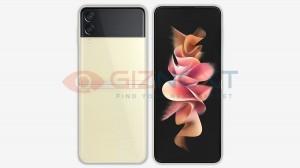 Samsung Galaxy Z Flip3 in: Beige
