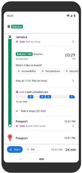 You can now avoid crowded mass transit with Google Maps in 100 countries