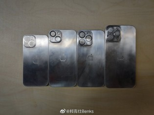 Blanks used to create molds for iPhone 13 cases
