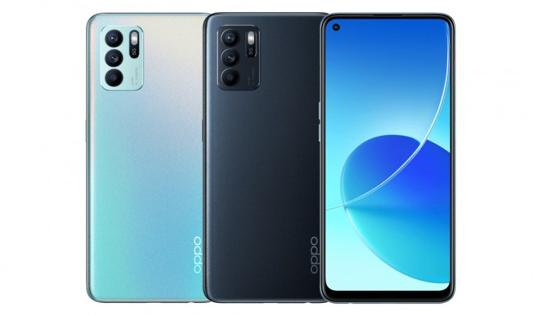 Oppo Reno6 Z specs listed on company site day before announcement