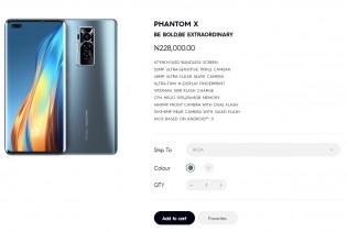 Phantom X sekarang tersedia