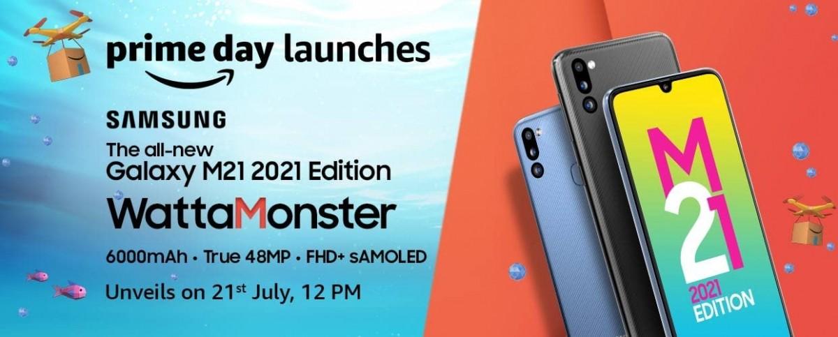 Samsung Galaxy M21 2021 Edition akan tiba pada 21 Juli, desain dan spesifikasi terungkap